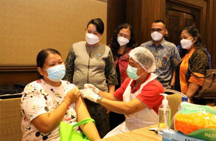 Ini Kontribusi Ayana Resort & Spa Sukseskan Vaksinasi di Badung