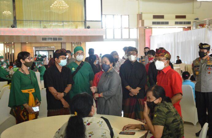 Di Depan Puan Maharani, Koster Beberkan Vaksinasi Berbasis Reguler dan Gotong Royong