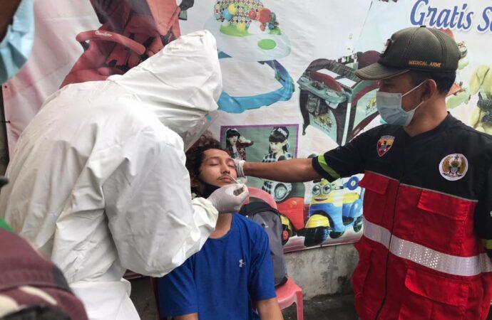 Di Denpasar, Pelanggar Prokes Dirapid Tes Antigen