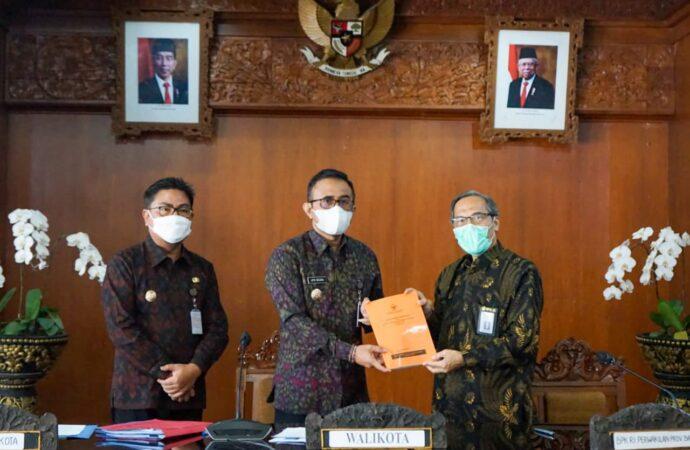BPK RI Perwakilan Bali,  Exit Meeting di Pemkot Denpasar