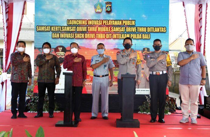 Bupati Giri Prasta Apresiasi Inovasi Pelayanan Publik Polda Bali