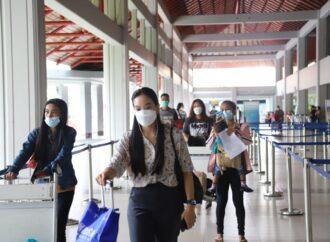 April 2021,  Penumpang Bandara Ngurah Rai Naik 16%