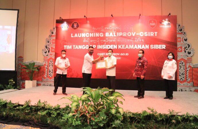 Pemprov Bali Luncurkan BALIPROV-CSIRT, Waspada Ancaman Siber