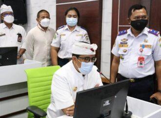 Bupati Sanjaya Resmikan ATCS Kabupaten Tabanan