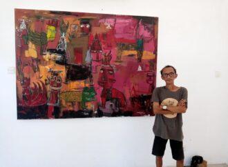 48 Karya Made Kaek Dipamerkan di Jimbaran Hub Art Festival