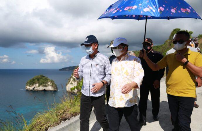 Menteri PPN Terus Pantau Nusa Penida