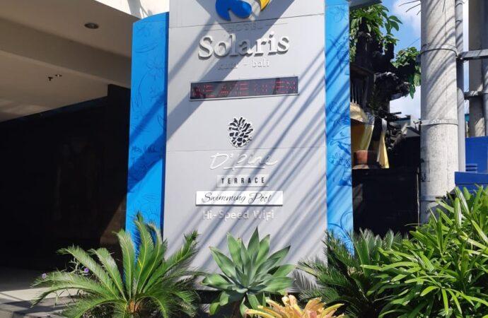 Di Masa Pandemi, Solaris Hotel Kuta Masih Dipercaya Pelanggan