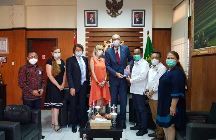 Ceko Jajaki Kerjasama dengan Kadin Bali