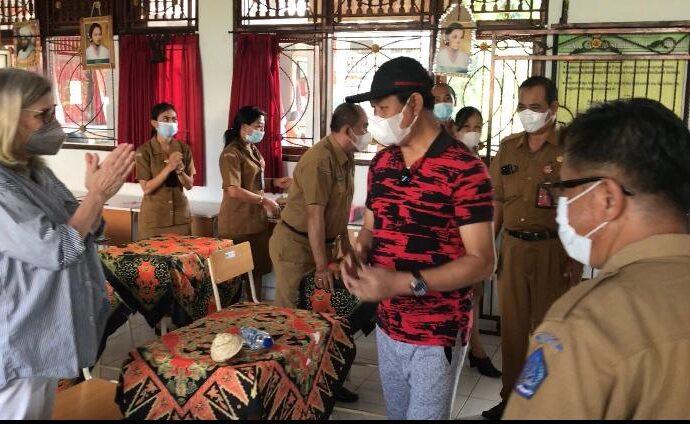 UNICEF Kagumi Pola Vaksinasi di Badung