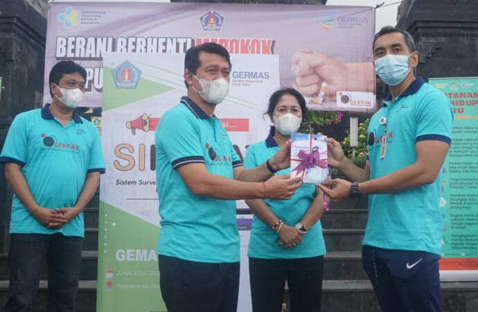 Bupati Suwirta Hadiri Peringatan HTTS  2021