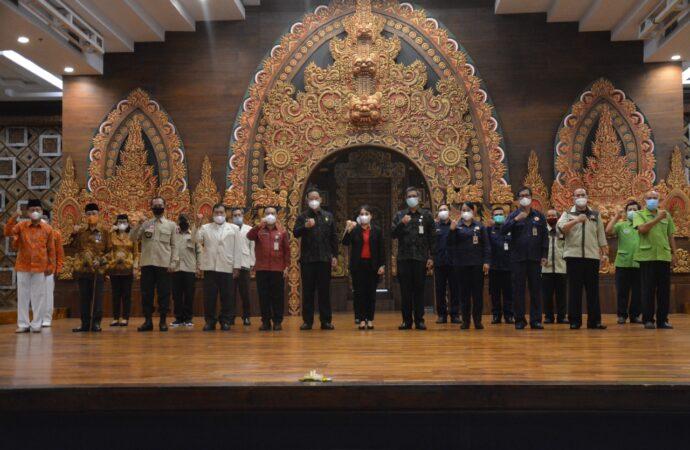 Pilar-Pilar Sosial Kota Denpasar Dikukuhkan