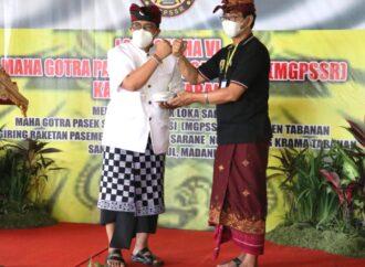 Semangat Persatuan Pesemetonan MGPSSR di Tabanan