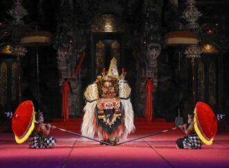 Bapang Barong Duta Kota Denpasar Tampil Apik