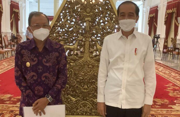 Jokowi dan Koster Bahas Pemulihan Pariwisata Bali