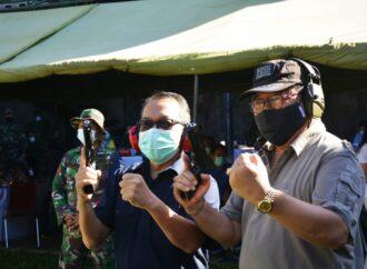 """Korem 163/Wirasatya Gelar """"Lomba Tembak Pistol Eksekutif"""""""