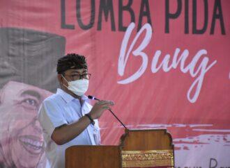 Lomba Pidato Bung Karno di SMP Negeri 2 Denpasar