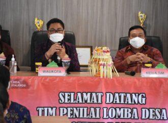 Kesiman Kertalangu Ikuti Lomba Desa Tingkat Provinsi Bali 2021