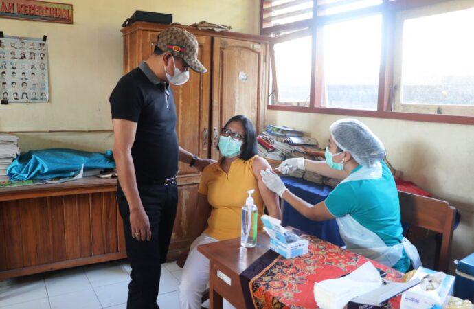 Vaksinasi Covid-19 Dosis I di Desa Mekarbuana dan Desa Mambal