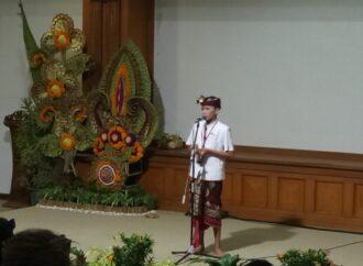 "Peserta ""Wimbakara Pidarta Basa Bali"" Kupas Tema PKB XLIII"