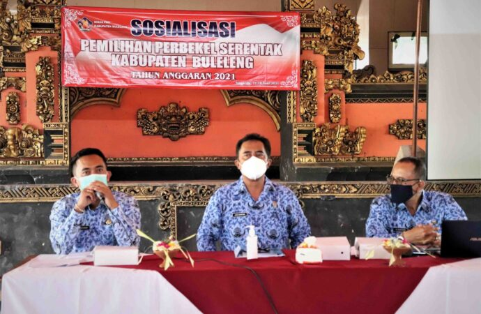 Pilkel Serentak di Buleleng. Harus  Terapkan Prokes Ketat