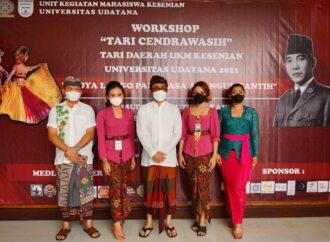 Workshop Tari Cendrawasih di Dharma Negara Alaya Denpasar