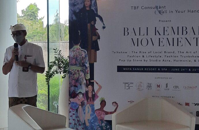 """Gaya Hidup dan Fesyen Berkelanjutan untuk """"Bali Kembali"""""""