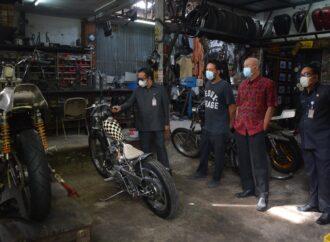 Dua Motor Kustom Karya Builder Denpasar Tampil di Negeri Sakura