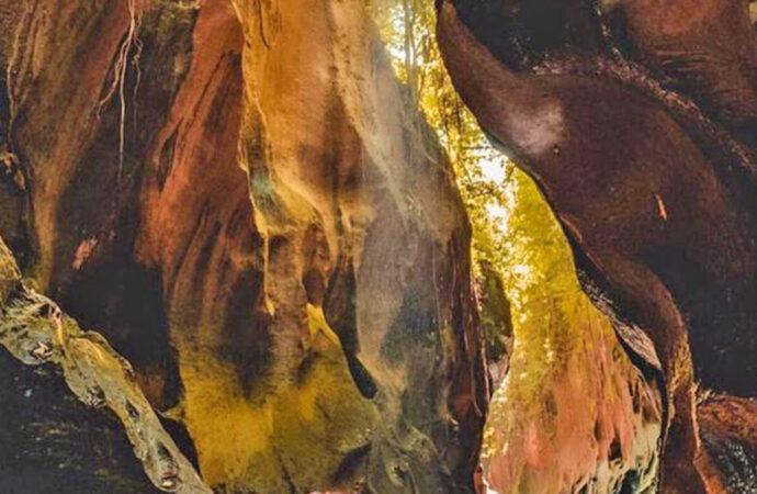Hidden Canyon of Beji Guwang Challenges You