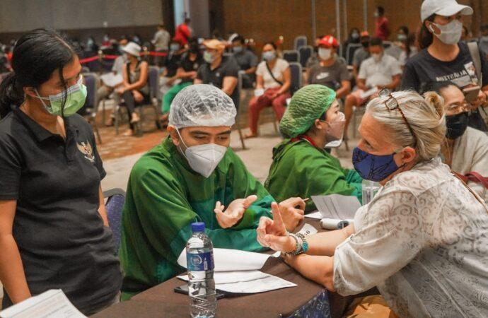 ITDC Tuntaskan Vaksinasi  di Kawasan The Nusa Dua dan Sekitarnya