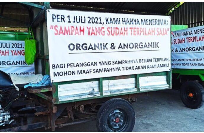 Masyarakat Desa Sumerta Kaja Diwajibkan Memilah Sampah dari Rumah