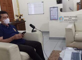 Sosialisasi PPKM Darurat di Nusa Penida