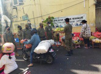 Penertiban PPKM Darurat di Pos Penyekatan Denpasar