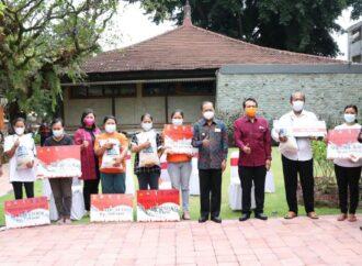 Bantuan Sosial untuk Masyarakat Bali di Tengah Pandemi