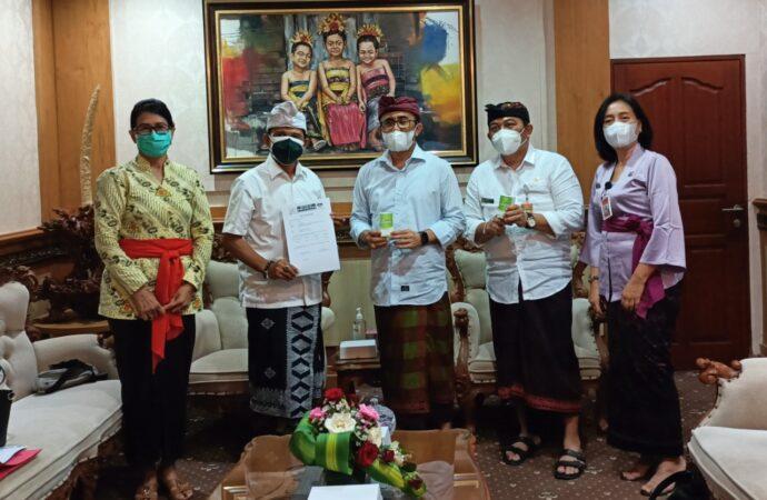 600 Botol Suplemen Kesehatan dari PDDI Bali