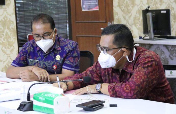 Bupati Sanjaya Koordinasikan Ketersediaan Oksigen