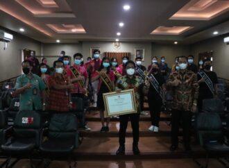 Badung Raih Penghargaan KPAI Tahun 2021