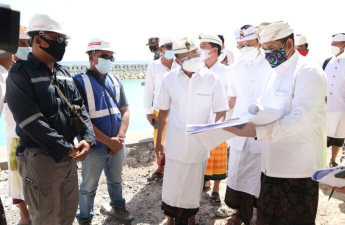 Pembangunan Pelabuhan Sampalan, Diharapkan Tuntas Sesuai Target
