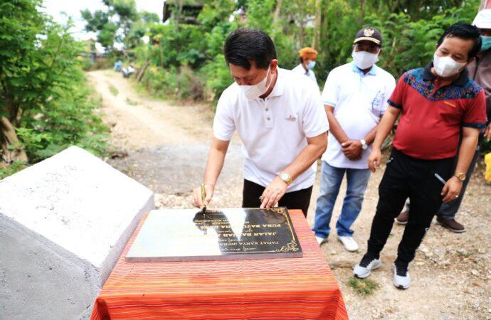 Ini Kegiatan Padat Karya Infrastruktur di Nusa Penida