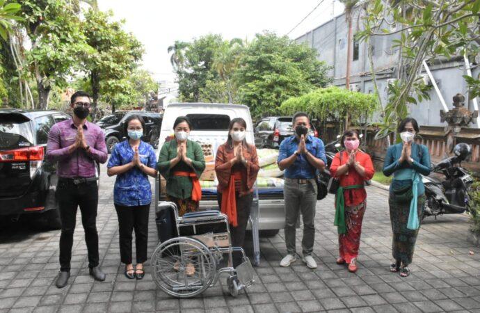 K3S Kota Denpasar Terima Bantuan Alkes dan Sembako
