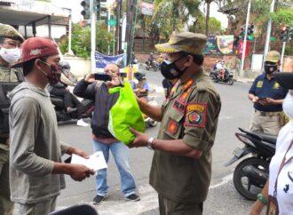 Di Denpasar, Penertiban PPKM Level 4 Tonjolkan Sisi  Humanis