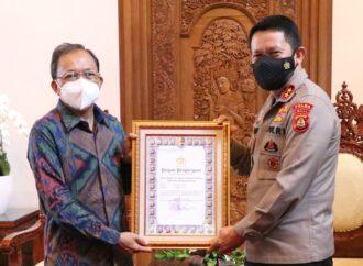 Bali Sabet Penghargaan PPKM Mikro Terbaik