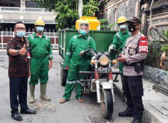 Seluruh Jalan di Kota Denpasar Disemprot Eco Enzyme
