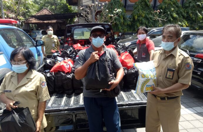 7.376 Paket Sembako Telah Disalurkan Kepada Isoman