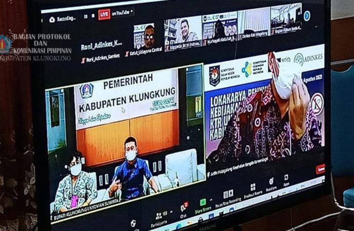 Bupati Suwirta Jadi Narasumber Lokakarya Penyusunan Kebijakan Regulasi KTR