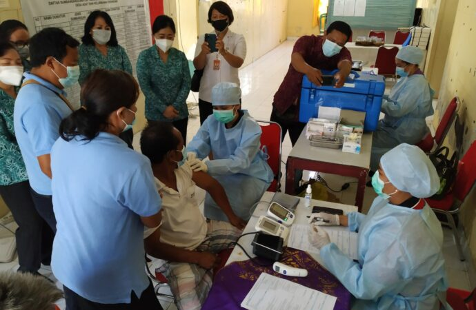 Denpasar Gencarkan Vaksinasi Bagi Disabilitas