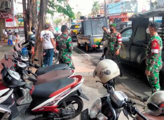 Tim Yustisi Kota Denpasar Kembali Tindak Pelanggar PPKM Level IV