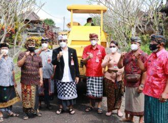 Tabanan Bangun Jalan Pemanis-Kuta Bali