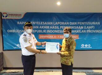 ORI Bali Apresiasi Kinerja Dishub Kota Denpasar di Bidang Pelayanan Publik