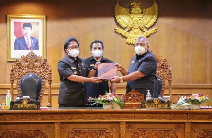 Bupati Badung Sampaikan Jawaban Pemerintah KUA PPAS 2022