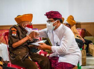 Tali Asih ITDC Bagi Para Veteran